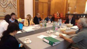 Întâlnirea echipei de implementare a proiectului cu reprezentanții Autorității de Management din cadrul Programului Interreg V A România-Ungaria