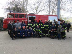 Exercițiul comun pentru pompierii voluntari din Valcani și Foldeák