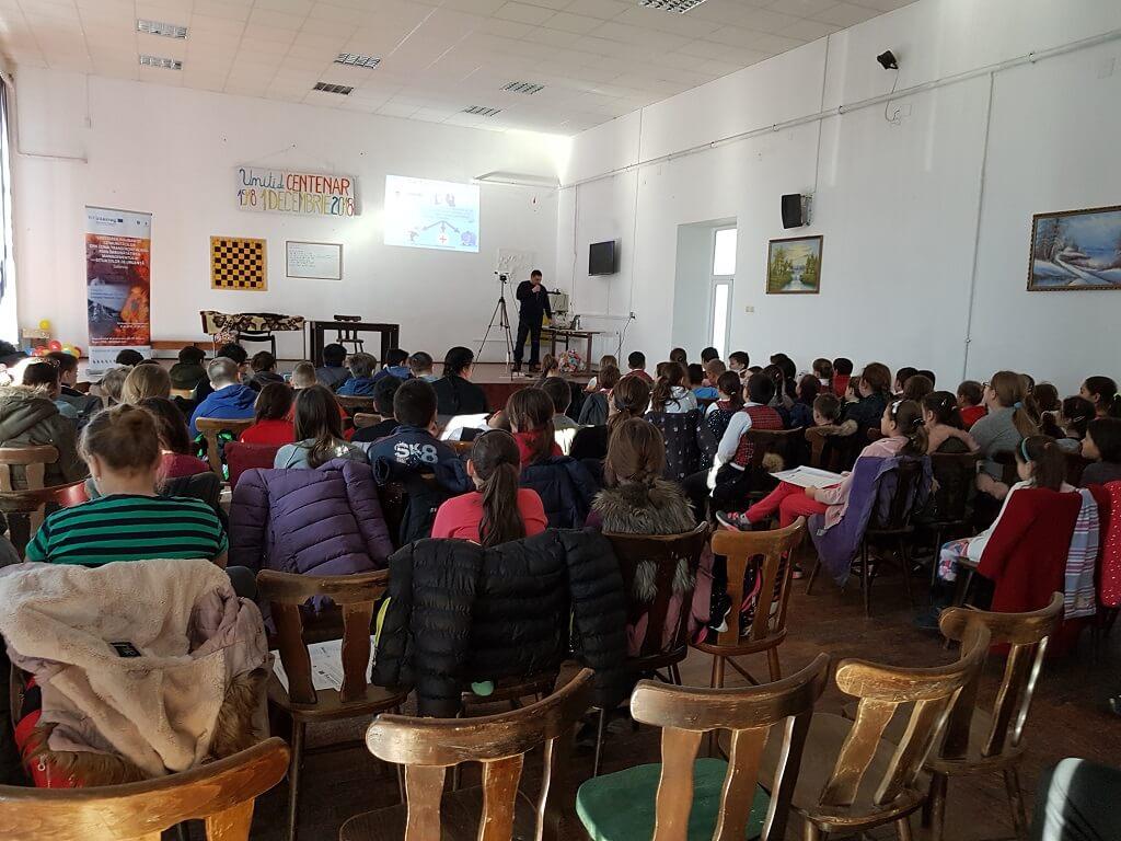 Campania conștientizare copii Sânnicolau Mare
